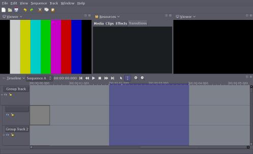 Current Lumiera GUI Screenshot